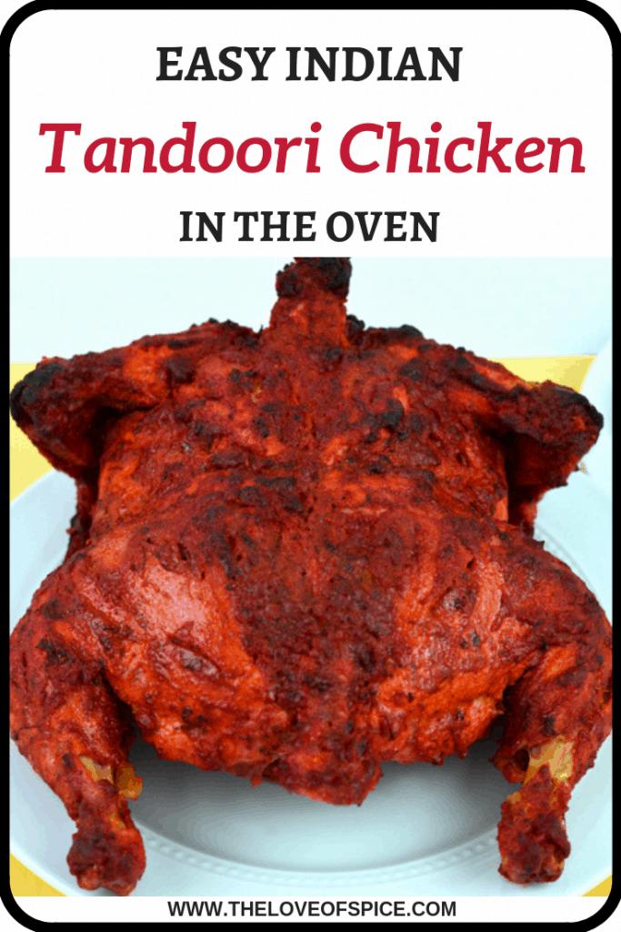tandoori chicken roasted in oven